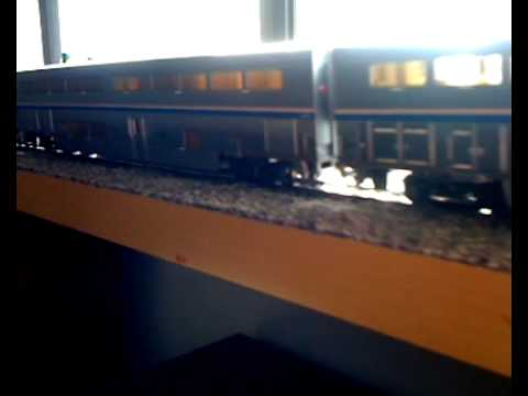 HO Scale Amtrak Desert Wind trainset
