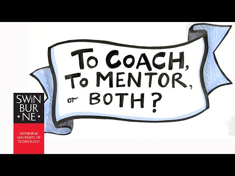 To coach, to mentor, or both?