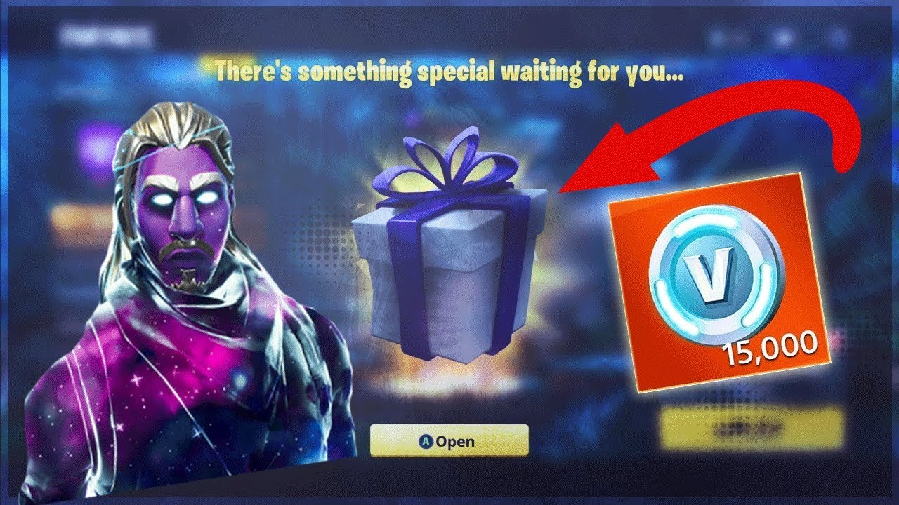 How To Get Free Galaxy Skin 15 000 V Bucks Fortnite Battle