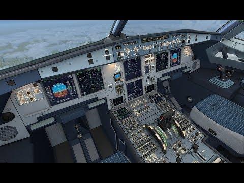 FSX VATSIM Airbus A320 Live Stream Dublin to Groningen (Netherlands)
