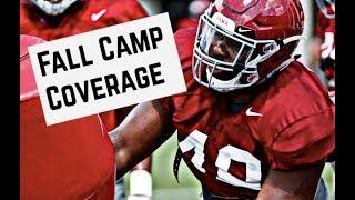 Alabama Football Practice No. 4 - Fall Camp Highlights