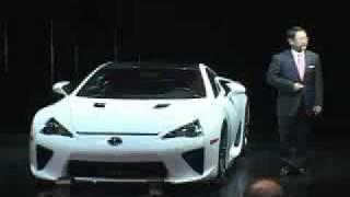 レクサス LFA 東京モーターショー2009にて公開! thumbnail