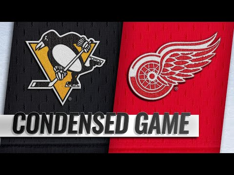 09/19/18 Condensed Game: Penguins at Red Wings