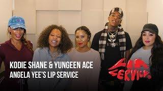 Angela Yee's Lip Service ft. Yungeen Ace & Kodie Shane