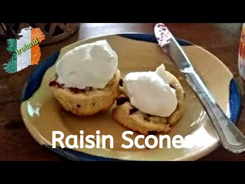 Gráinne's Kitchen - Raisin Scones