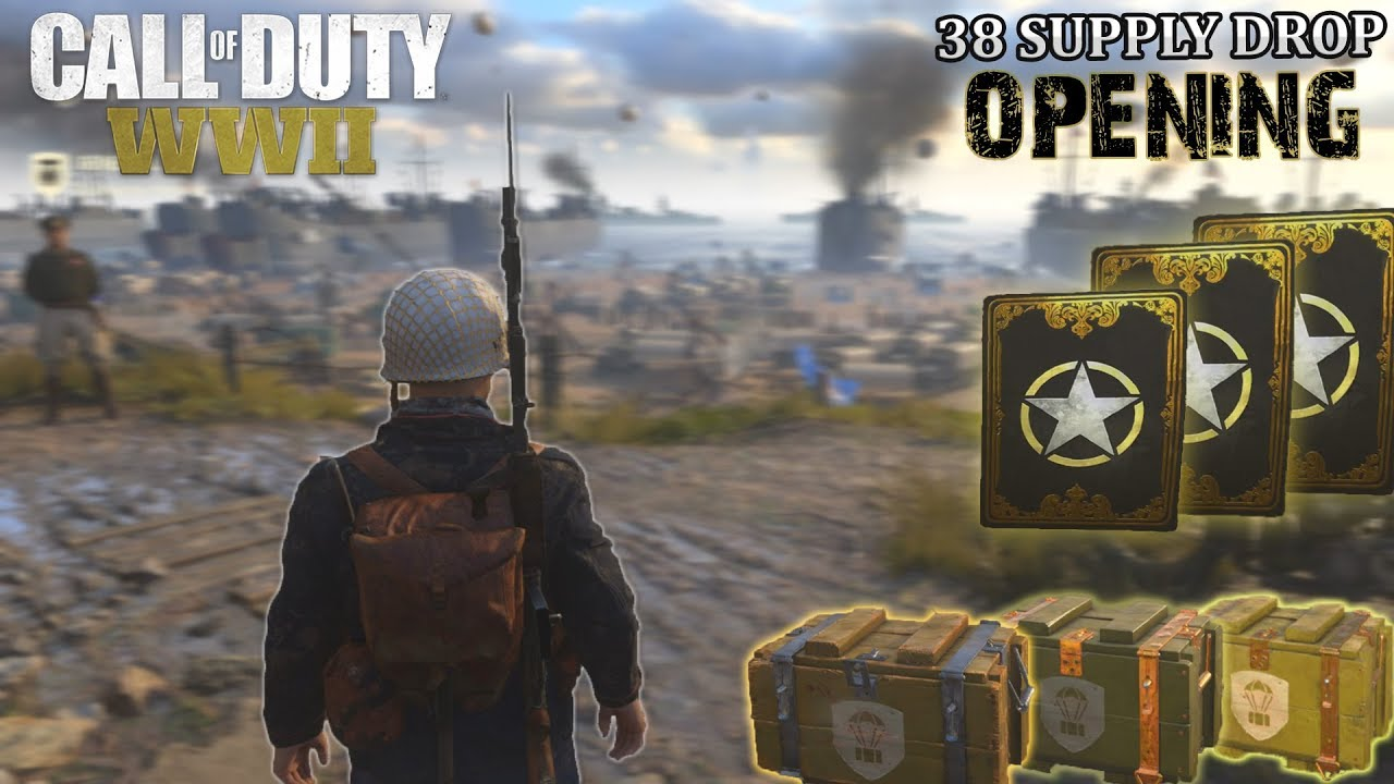 how to open supply drops ww2