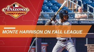 Harrison on improving in the Arizona Fall League