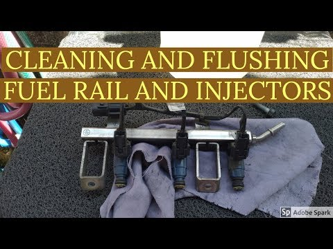 HOW TO CLEAN FUEL RAIL, INJECTORS FOR HYUNDAI EON