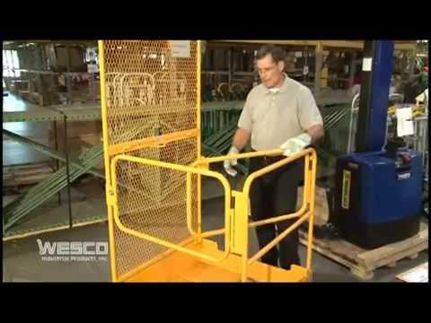 Forklift Platform Maintenance Platform