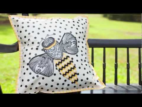 Sewing With Oilcloth Book Trailer