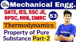 12:00 PM - Mechanical by Neeraj Sir   Thermodynamics   Property of Pure Substance
