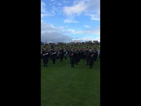 Salute to the Chieftain - Cowal Highland Gathering 2015
