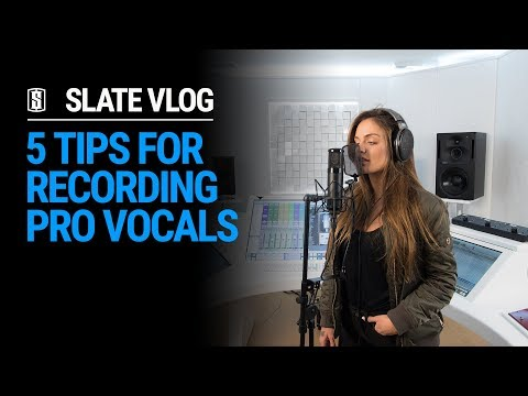 5 Tips For Recording Pro Vocals