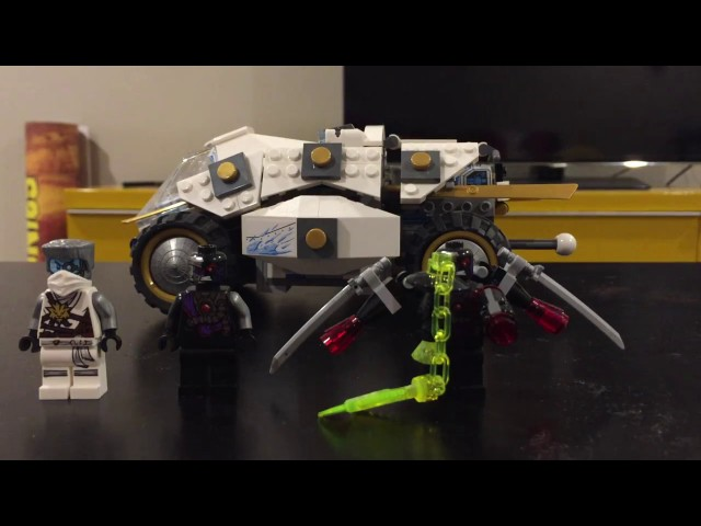 Lego Titanium Ninja Tumbler Review - Set 70588