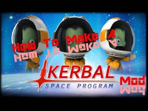 How To Make A Kerbal Space Program Mod- Episode 2- Texturing