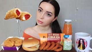 Кавказцы женятся только на своих ?? Mukbank McDonald's 🍔/ Ayka Emilly