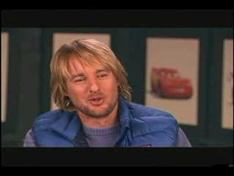 CARS, THE MOVIE: OWEN WILSON HAS A NEED FOR SPEED