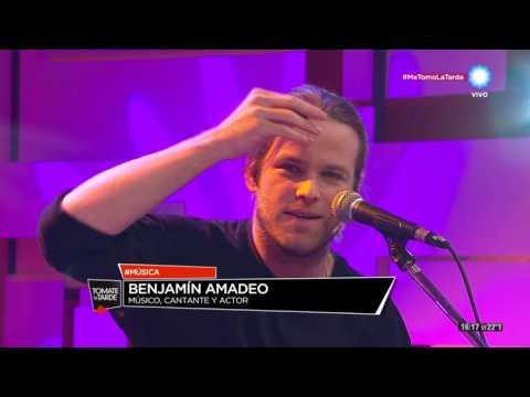 Benjamín Amadeo en Tomate la Tarde