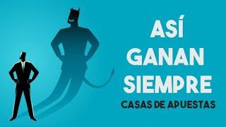 😈💰 COMO GANAN DINERO LAS CASAS DE APUESTAS