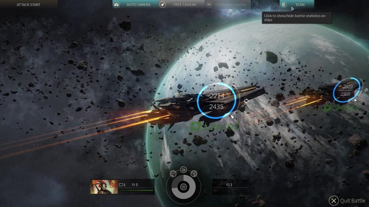 Endless Space 2 - Vodyani vs. Vodyani - YouTube