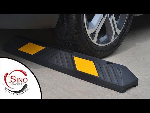 Rubber Parking Stops & Parking Blocks By Sino Concept