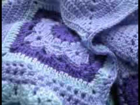 T p our time manta a crochet ganchillo youtube - Mantas a crochet ...