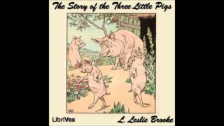 Three Little Pigs by Leonard Leslie Brook (Free Audio Book for Kids & Children)