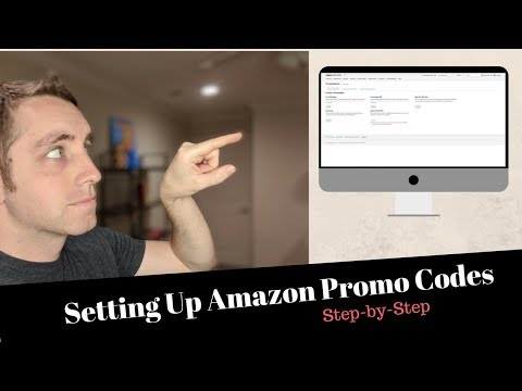 How To: Set Up Amazon Promotional Codes For Your FBA Products