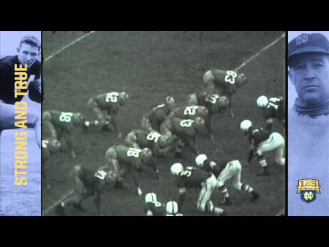 Johnny Lattner Wins The Heisman - 125 Years of Notre Dame Football - Moment #099