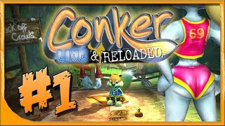 Conker Live and Reloaded #1 - El Rey Conker - Dat Ass - Español