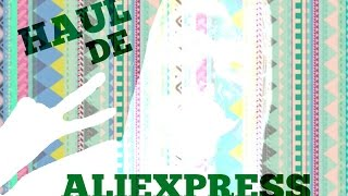 MEGA HAUL ALIEXPRESS (PAPELERIA, BELLEZA, KAWAII..) || LULISWEET