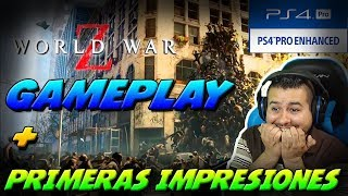 Gameplay de Guerra Mundial Z (World War Z) en Ps4 Pro