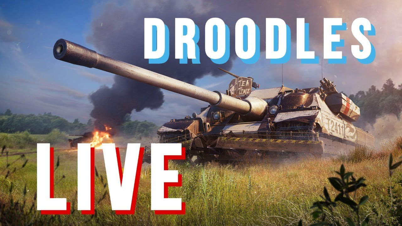 WOTB | Droodles Live | Random tanks
