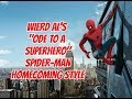 "watch he video of ""Wierd Al"" Yankovic - Ode To A Superhero - Spider-Man Homecoming Style"