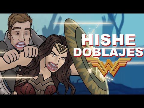 HISHE Doblajes - Mujer Maravilla (Recapitulación Cómica)