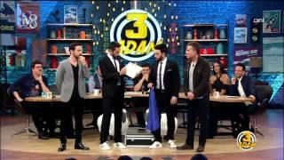 Kıvanç ve Burak'ın Yardımcıları Ahmet Kural ve Murat Cemcir Oldu | 3 Adam | Sezon 3 Bölüm 5