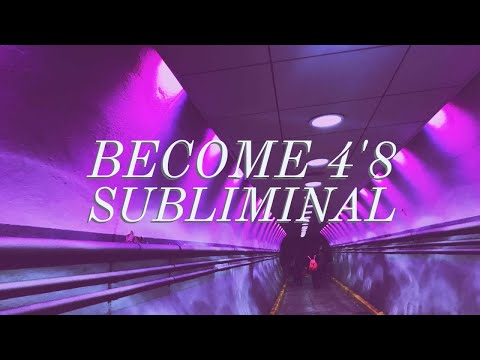 Become 4'8 Subliminal (instantly works) ♡