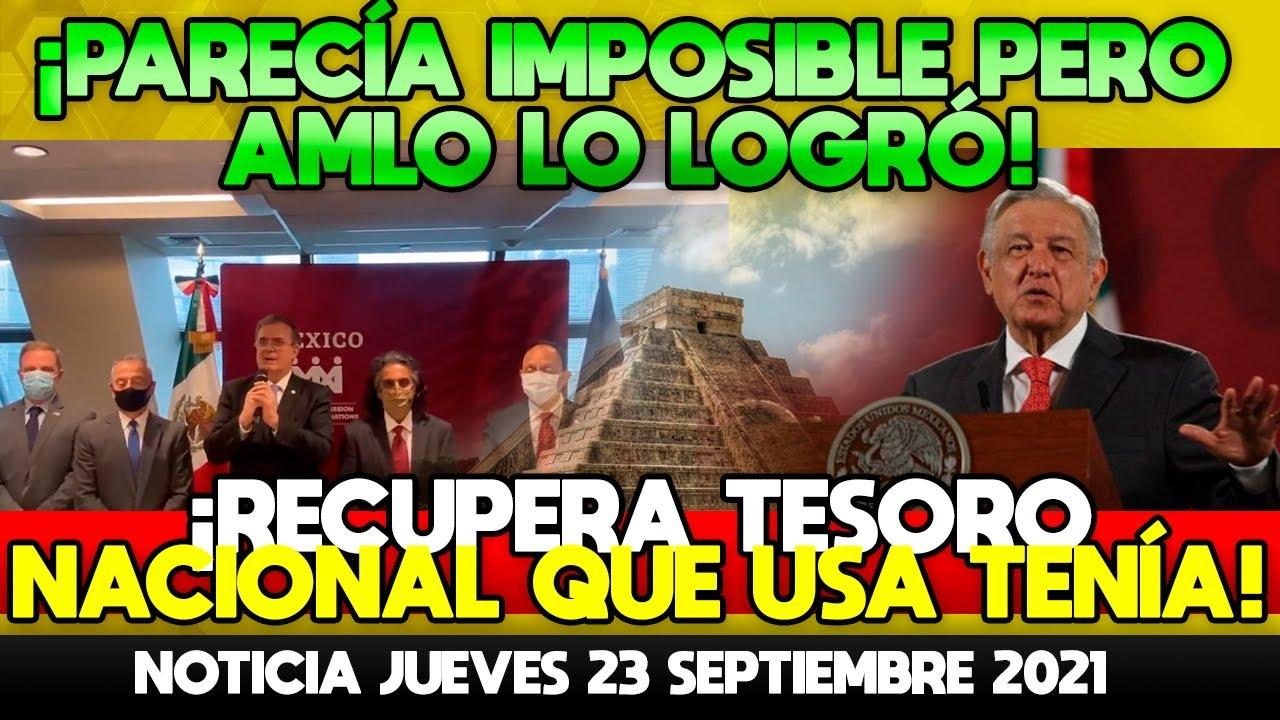 PARECÍA IMPOSIBLE PERO AMLO LO LOGRÓ!RECUPERA TESORO NACIONAL ROBADO POR HERNAN CORTES!ESTABA EN USA