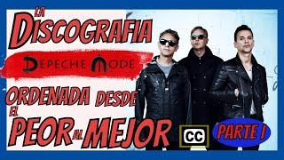 Los Albums De Depeche Mode Ordenados Del Peor Al Mejor Parte 1 From The Worst To The Best Albums