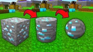 【マイクラ】丸い鉱石の作り方知ってますか?