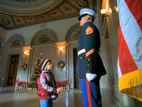 "Marine Corps Commercial: ""Toys for Tots -- Guard Duty"""