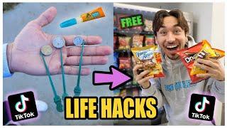 We TESTED Viral TikTok Life Hacks.... (MIND BLOWING) *PART 6*