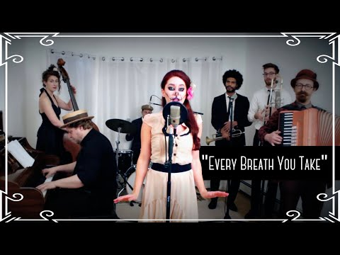 """Every Breath You Take"" (The Police) - Creepy Halloween Waltz Cover by Robyn Adele Anderson"