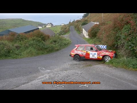Donegal Harvest Rally 2016. Irish Rally Action (Flyin Finn Motorsport)
