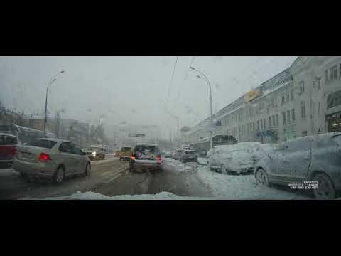 Car rental with driver in Kiev during heavy snowfall 18 12 2017 Your Driver