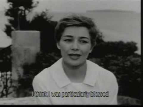 Emmanuelle Riva interview 1959