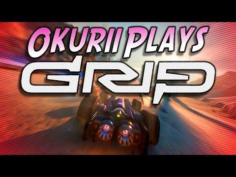 Okurii Plays   GRIP : COMBAT RACING   Too fast to win.  