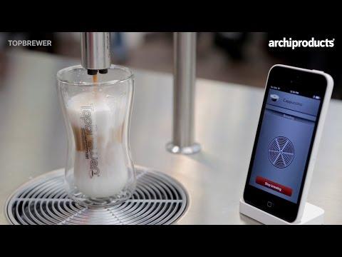Design Clip | SCANOMAT  - TopBrewer: la macchina da caffè controllata da un'App