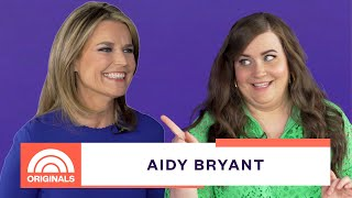 Saturday Night Live comedian, Aidy Bryant, sits down with Savannah ...