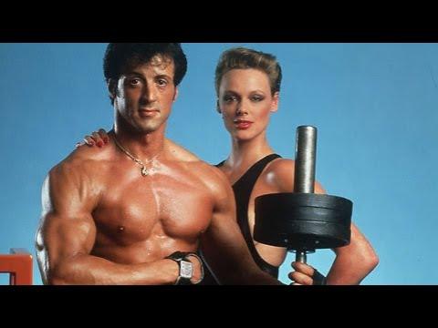 Sylvester Stallone and Brigitte Nielsen 80's